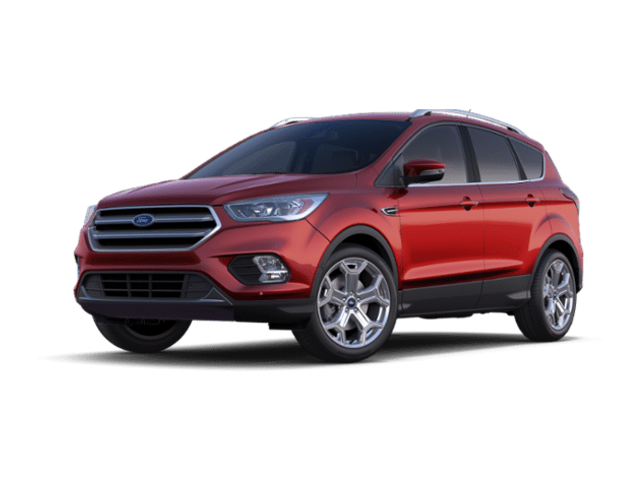 New 2019 Ford Escape Titanium SUV in Holly, MI